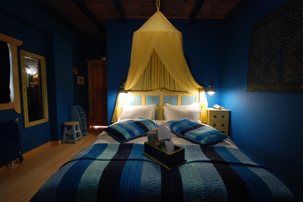μπλε δωματιο