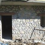 construction of chalet 4